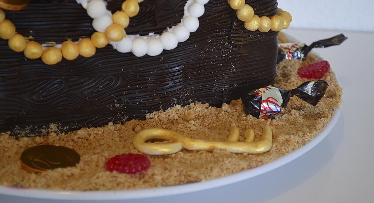 luftig kakao kage