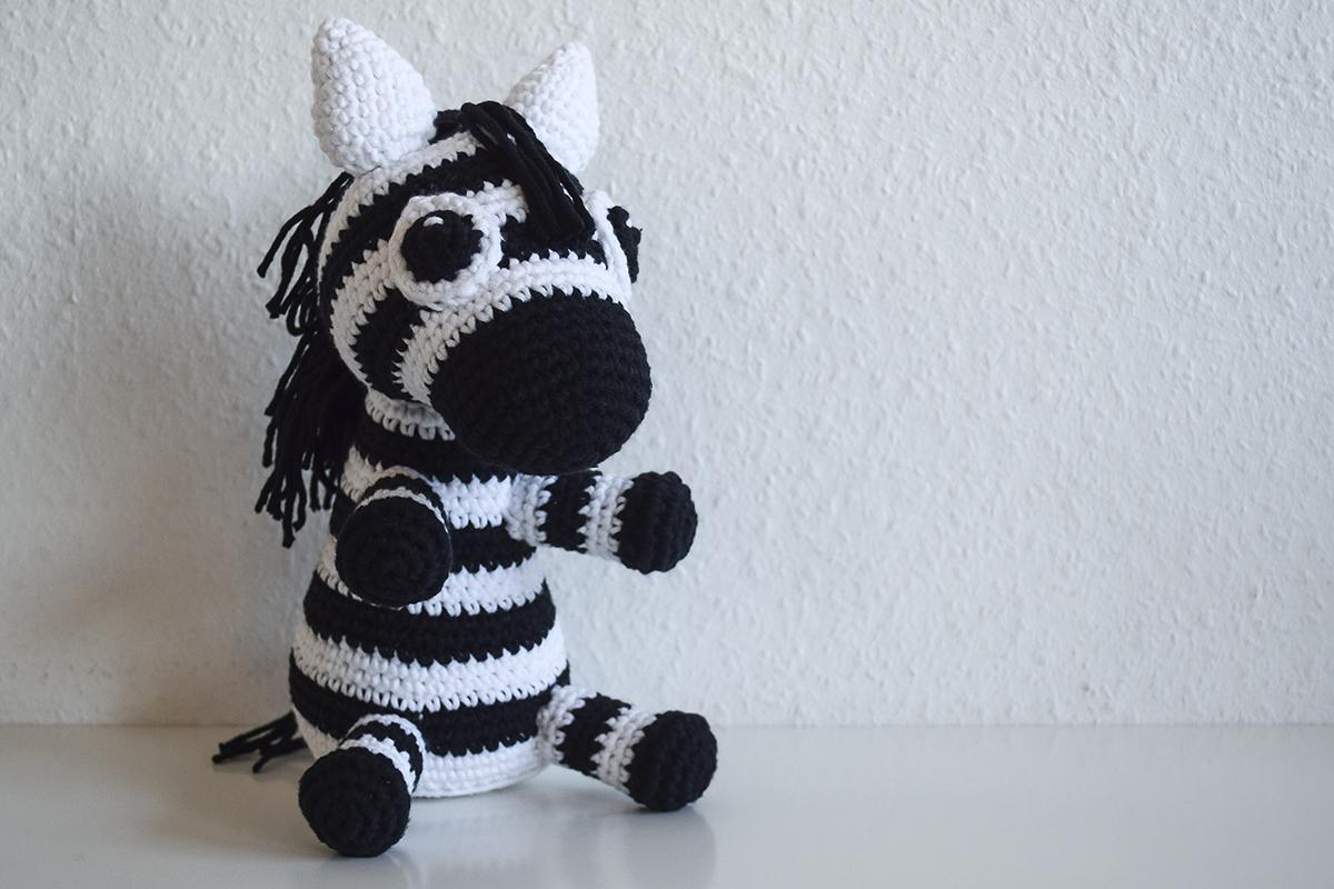 Hæklet kay bojesen zebra